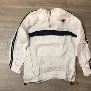 Large New England Patriots Windbreaker